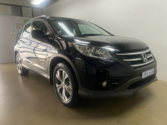 Used Honda CR-V 30 VTi-L (4x4) Phillip, 2013 Honda CR-V 30 VTi-L (4x4) Black 5 Speed Automatic Wagon