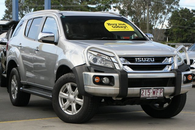 Used Isuzu MU-X MY15 LS-T Rev-Tronic Aspley, 2015 Isuzu MU-X MY15 LS-T Rev-Tronic Silver 5 Speed Sports Automatic Wagon