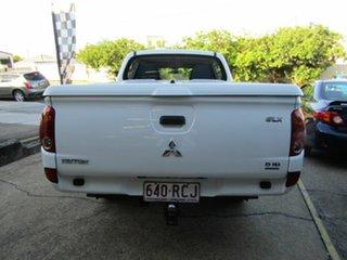 2009 Mitsubishi Triton MN MY10 GLX Double Cab 4x2 White 5 Speed Manual Utility.