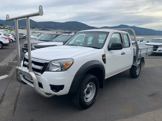 2011 Ford Ranger PK XL Hi-Rider White 5 Speed Manual Cab Chassis