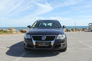 2008 Volkswagen Passat Type 3C MY09 125TDI DSG Black 6 Speed Sports Automatic Dual Clutch Wagon