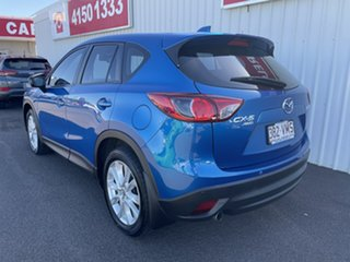 2012 Mazda CX-5 KE1071 Grand Touring SKYACTIV-Drive AWD Blue 6 Speed Sports Automatic Wagon