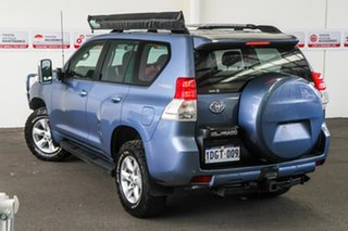 2010 Toyota Landcruiser Prado KDJ150R GXL Blue Storm 5 Speed Sports Automatic Wagon.