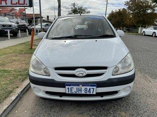 2008 Hyundai Getz TB MY09 S White 4 Speed Automatic Hatchback.