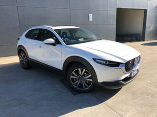 2020 Mazda CX-30 DM2WLA G25 SKYACTIV-Drive Astina Snowflake White 6 Speed Sports Automatic Wagon.