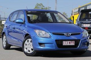 2010 Hyundai i30 FD MY10 SX Vivid Blue 5 Speed Manual Hatchback.