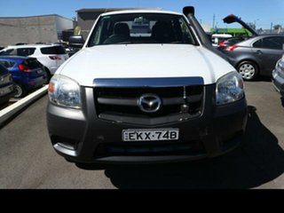 2009 Mazda BT-50 08 Upgrade B3000 DX (4x4) White 5 Speed Manual Dual Cab Chassis