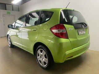 2012 Honda Jazz GE MY12 GLi Green 5 Speed Automatic Hatchback