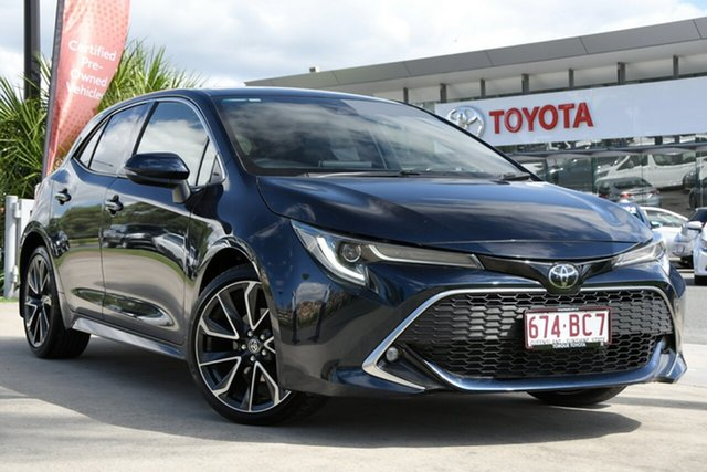 Pre-Owned Toyota Corolla Mzea12R ZR North Lakes, 2019 Toyota Corolla Mzea12R ZR Peacock Black 10 Speed Constant Variable Hatchback