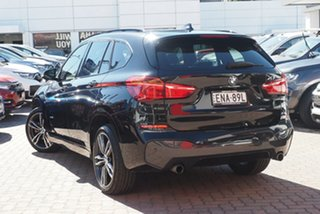 2016 BMW X1 F48 xDrive25i Steptronic AWD Black 8 Speed Sports Automatic Wagon.
