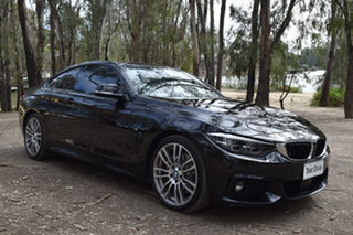 2019 BMW 4 Series F32 LCI 440i Black 8 Speed Sports Automatic Coupe