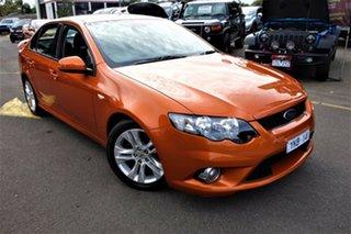 2011 Ford Falcon FG XR6 Orange 6 Speed Sports Automatic Sedan.