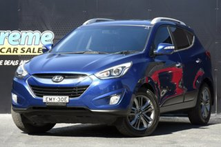 2014 Hyundai ix35 LM3 Elite Blue 6 Speed Sports Automatic Wagon.
