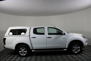 2014 Isuzu D-MAX MY14 LS-U Crew Cab 4x2 High Ride White 5 Speed Manual Utility