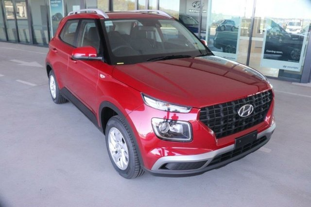 New Hyundai Venue QX.V3 MY21 Mount Gravatt, 2021 Hyundai Venue QX.V3 MY21 Fiery Red 6 Speed Automatic Wagon