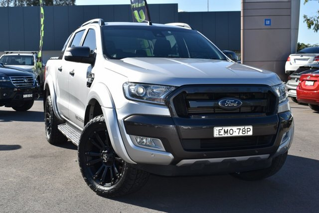 Used Ford Ranger PX MkII 2018.00MY Wildtrak Double Cab Tuggerah, 2018 Ford Ranger PX MkII 2018.00MY Wildtrak Double Cab White 6 Speed Sports Automatic Utility