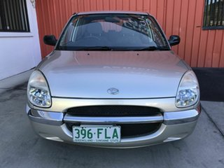 2000 Daihatsu Sirion M100RS Silver 4 Speed Automatic Hatchback.