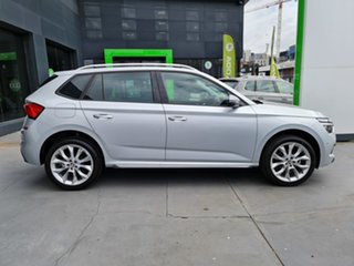 2020 Skoda Kamiq NW MY21 85TSI DSG FWD Brilliant Silver 7 Speed Sports Automatic Dual Clutch Wagon.