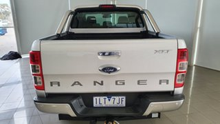 2017 Ford Ranger PX MkII XLT Double Cab Silver, Chrome 6 Speed Sports Automatic Utility