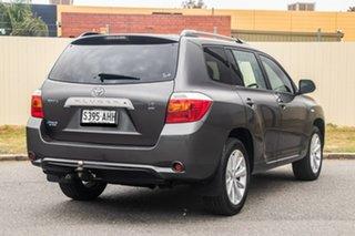 2010 Toyota Kluger GSU40R Altitude 2WD Grey 5 Speed Sports Automatic Wagon.