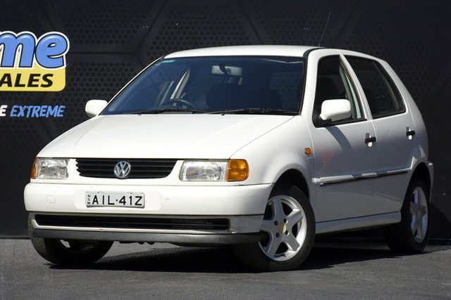 Used Volkswagen Polo A03 Campbelltown, 1999 Volkswagen Polo A03 White 4 Speed Automatic Hatchback