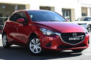 2018 Mazda 2 DJ2HAA Neo SKYACTIV-Drive Soul Red Crystal 6 Speed Sports Automatic Hatchback.