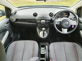 2011 Mazda 2 DE Series 2 Maxx Black Automatic Hatchback