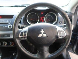 2012 Mitsubishi Lancer CJ MY12 ES Grey 5 Speed Manual Sedan