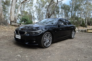 2019 BMW 4 Series F32 LCI 440i Black 8 Speed Sports Automatic Coupe.