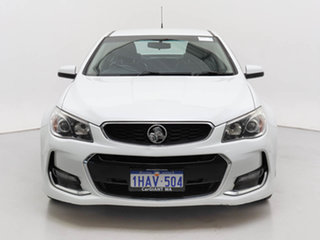 2017 Holden Commodore VF II MY17 SV6 White 6 Speed Automatic Sedan.