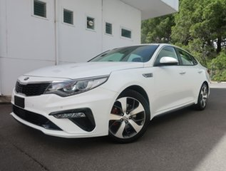 2019 Kia Optima JF MY20 GT White 6 Speed Sports Automatic Sedan.