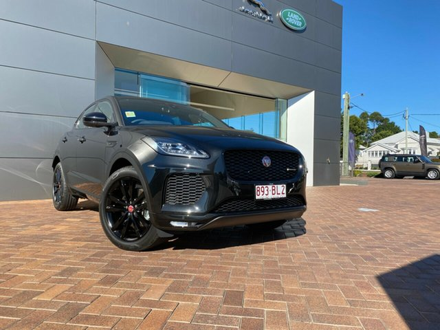 Demo Jaguar E-PACE X540 20MY Standard R-Dynamic S Toowoomba, 2020 Jaguar E-PACE X540 20MY Standard R-Dynamic S Black 9 Speed Sports Automatic Wagon