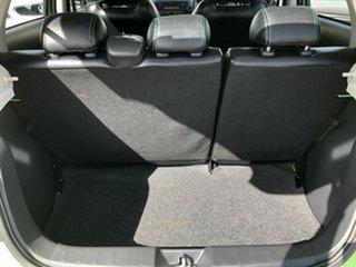 2015 Mitsubishi Mirage LA MY15 ES Green 5 Speed Manual Hatchback