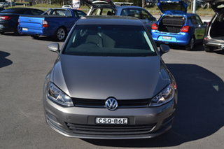 2014 Volkswagen Golf VII MY14 90TSI DSG Grey 7 Speed Sports Automatic Dual Clutch Hatchback.