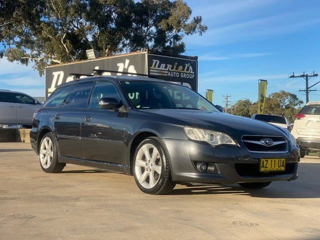 Used Subaru Liberty 2.5I Goulburn, 2009 Subaru Liberty 2.5I Grey Constant Variable Wagon