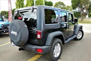 2012 Jeep Wrangler JK MY2012 Unlimited Sport Black 6 Speed Manual Softtop.