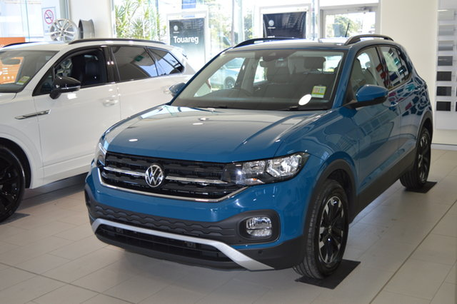 New Volkswagen T-Cross C1 MY21 85TSI DSG FWD Life Maitland, 2020 Volkswagen T-Cross C1 MY21 85TSI DSG FWD Life 5m5m 7 Speed Sports Automatic Dual Clutch Wagon