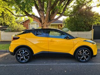 2017 Toyota C-HR NGX10R Koba S-CVT 2WD Hornet Yellow/leathe 7 Speed Constant Variable Wagon