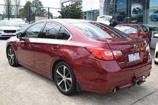 2016 Subaru Liberty B6 MY16 2.5i CVT AWD Premium Red 6 Speed Constant Variable Sedan