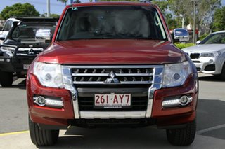 2015 Mitsubishi Pajero NX MY15 Exceed Terra Rossa 5 Speed Sports Automatic Wagon.