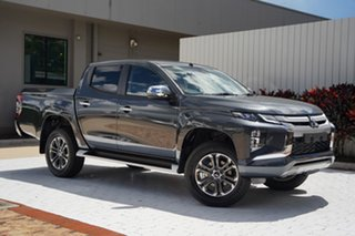 2021 Mitsubishi Triton MR MY21 GLS Double Cab Graphite Grey 6 Speed Manual Utility.