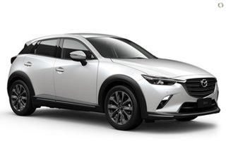2021 Mazda CX-3 DK4W7A sTouring SKYACTIV-Drive i-ACTIV AWD White 6 Speed Sports Automatic Wagon