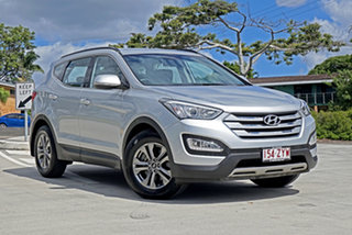 2014 Hyundai Santa Fe DM2 MY15 Active Silver 6 Speed Sports Automatic Wagon.