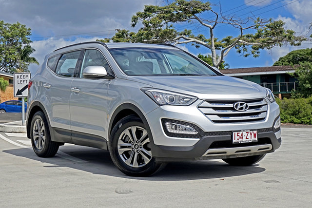 Used Hyundai Santa Fe DM2 MY15 Active Chandler, 2014 Hyundai Santa Fe DM2 MY15 Active Silver 6 Speed Sports Automatic Wagon