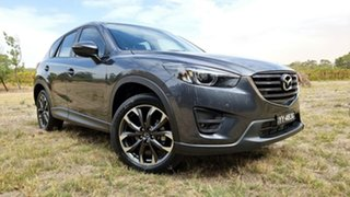 2016 Mazda CX-5 KE1022 Grand Touring SKYACTIV-Drive i-ACTIV AWD Grey 6 Speed Sports Automatic Wagon.