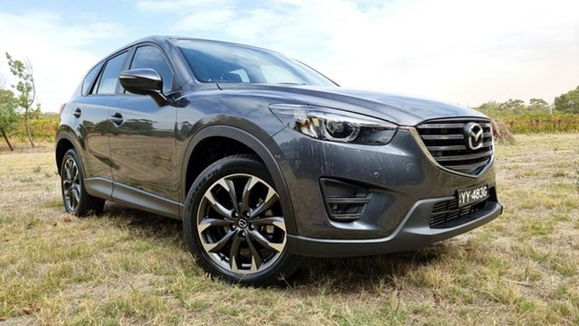 Used Mazda CX-5 KE1022 Grand Touring SKYACTIV-Drive i-ACTIV AWD Nuriootpa, 2016 Mazda CX-5 KE1022 Grand Touring SKYACTIV-Drive i-ACTIV AWD Grey 6 Speed Sports Automatic Wagon