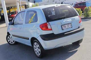 2010 Hyundai Getz TB MY09 S Sky Blue 5 Speed Manual Hatchback.