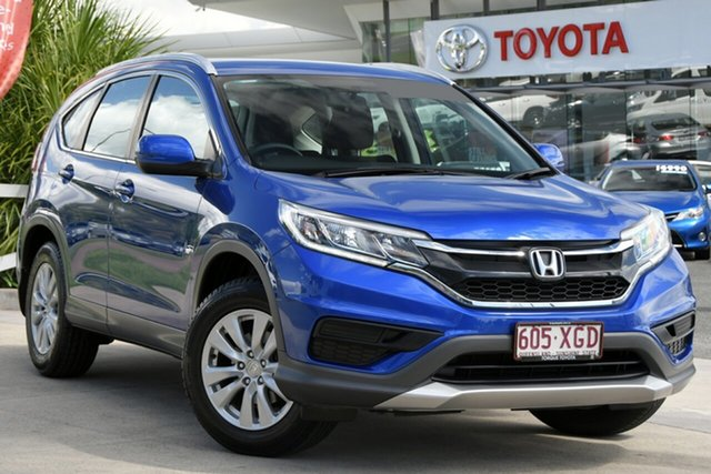 Pre-Owned Honda CR-V RM Series II MY17 VTi North Lakes, 2017 Honda CR-V RM Series II MY17 VTi Blue 5 Speed Automatic Wagon