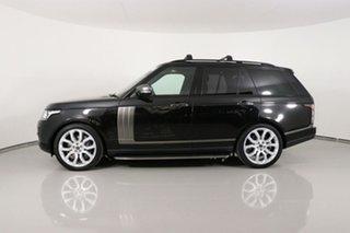 2013 Land Rover Range Rover LG Vogue SE 5.0 V8 SC Black 8 Speed Automatic Wagon