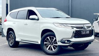 2016 Mitsubishi Pajero Sport QE MY16 Exceed White 8 Speed Sports Automatic Wagon.